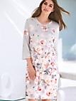 Charmor - Nachthemd aus 100 % Baumwolle mit 3/4-Arm