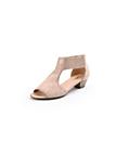 Gabor - Sandale aus Ziegenveloursleder