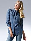 Looxent - Jeanshemd in authentischer Ausstattung