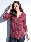 Samoon - Bluse mit abnehmbarer Kette