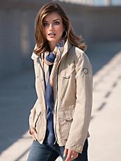 Fuchs & Schmitt - Jacke mit hoch schließbarem Stehkragen
