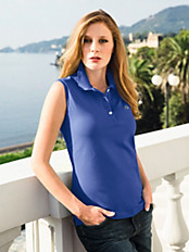 Lacoste - Leicht tailliertes Polo-Top ohne Arm