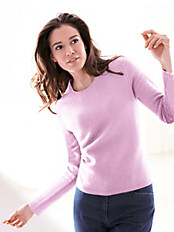 cashmere - Rundhals-Pullover in 100% Kaschmir
