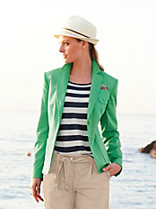Peter Hahn - Sommerlicher Blazer in Baumwoll-Stretch