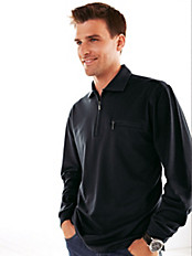 HAJO - Sportives Polo-Shirt mit 1/1-Arm