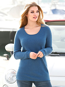 Anna Aura - Rundhals-Pullover aus 100% Kaschmir