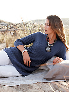 Strick-Pullover mit 3/4-Arm – Modell RIONA