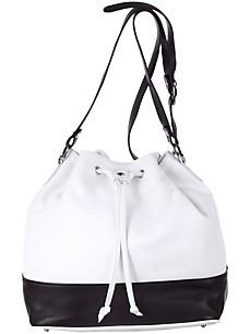 Tasche in Beutelform aus Nappaleder