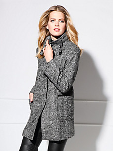 Basler - Jacke aus Fischgrat-Tweed