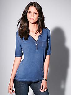 Brax Feel Good - Shirt mit längerem 1/2-Arm aus 100% Baumwolle
