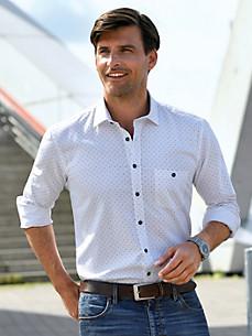 Bugatti - Hemd aus 100% Baumwolle