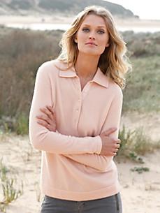 cashmere - Polo-Pullover aus reinem Kaschmir - Modell PAULA
