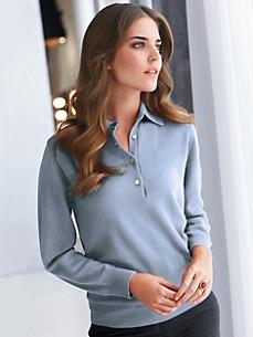 cashmere - Polo-Pullover aus reinem Kaschmir – Modell PETRA