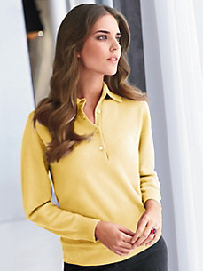 cashmere - Polo-Pullover in 100% Kaschmir
