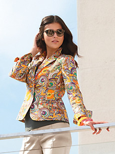 Clement - Blazer mit Paisley-Impressionen