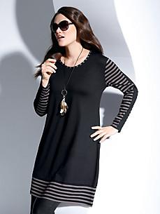Doris Streich - Jersey-Kleid in weich fallendem Schnitt