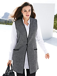Emilia Lay - Strickweste aus 100% Wolle