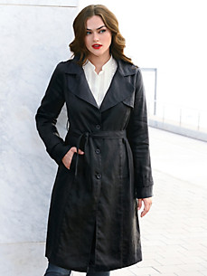Emilia Lay - Trenchcoat aus 100% Leinen