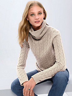 Fadenmeister Berlin - Rollkragen-Pullover  100% Kaschmir