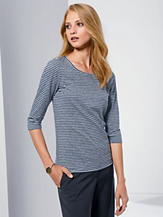 Fadenmeister Berlin - Rundhals-Shirt aus 100% Baumwolle mit 3/4-Arm