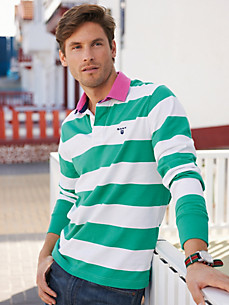 GANT - Rugby-Shirt mit kontrastfarbenem Kragen