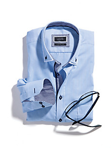 Hatico - Streifen-Hemd mit Button-down-Kragen