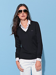 Lacoste - V-Pullover mit 1/1-Arm