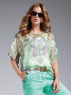 Looxent - Bluse aus reiner Seide mit 1/2-Arm