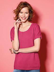 Looxent - Rundhals-Pullover mit angeschnittenem 1/2-Arm