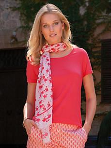 Looxent - Shirt mit Rundhals-Ausschnitt und 1/2-Arm