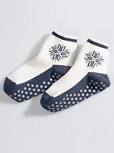 Medima - Socken mit großem Eisstern