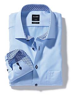 Olymp Luxor - Karo-Hemd aus 100% Baumwolle