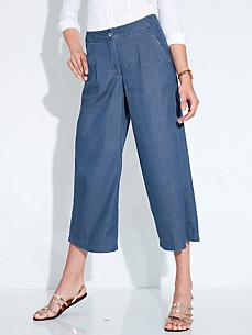 Peter Hahn - Jeans-Culotte aus 100% Baumwolle