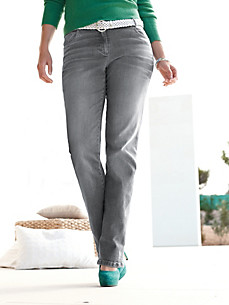 Peter Hahn Plus - 5-Pocket-Jeans mit schmalem Bein