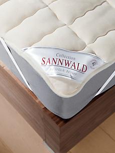 Sannwald - Schurwolle-Spannauflage, ca. 90x200cm