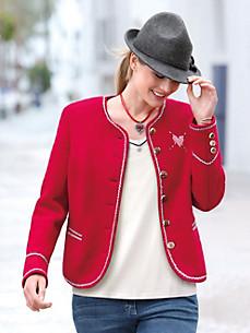 Steinbock - Walk-Jacke aus 100% Schurwolle