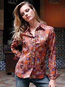 Uta Raasch - Bluse mit echten Perlmuttknöpfen