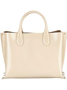 Handtasche aus glänzendem Nappaleder