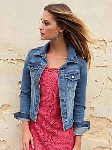 Uta Raasch - Jeans-Jacke in kurzer, knapper Form
