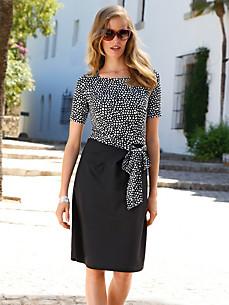 Uta Raasch - Jersey-Kleid mit 1/2-Arm und Karree-Ausschnitt