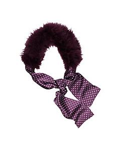 Uta Raasch - Schal mit Truthahnfedern