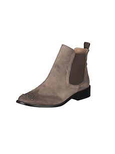 Uta Raasch - Stiefel aus gefettetem Veloursleder