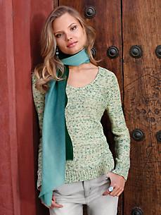 Uta Raasch - V-Pullover aus weichem Grobstrick