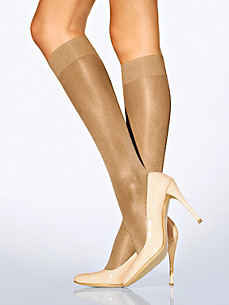 "Wolford - Kniestrumpf ""Satin Touch 20 Knee-Highs"""