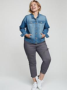 zizzi - Jeans-Jacke in kurzer Form