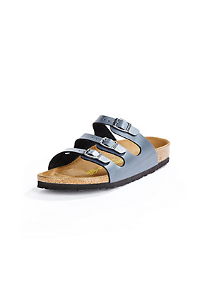 "Birkenstock Pantolette ""FLORIDA"" blau 377898"