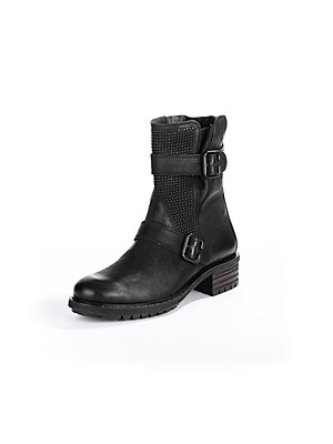 Paul Green Biker-Boot schwarz 380124