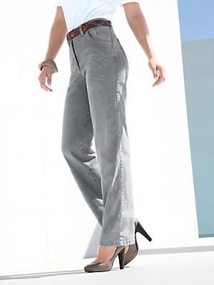 Jeans – Modell BABSIE STRAIGHT LEG  grau