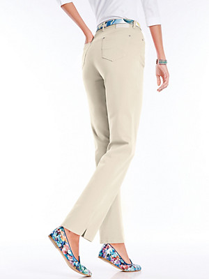 """Feminine Fit""-Jeans  beige"