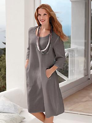 Anna Aura - Modisches Leinen-Kleid mit 3/4-Arm